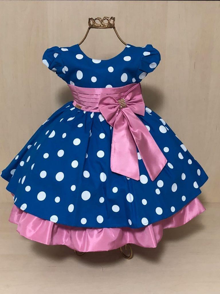 Vestido Infantil Galinha Pintadinha Rosa Faixinha E Gratis R 120