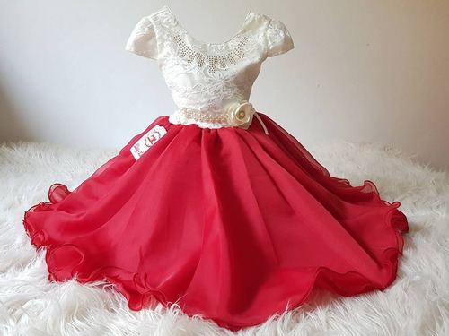 vestido infantil juvenil  festa  luxo pronta entrega