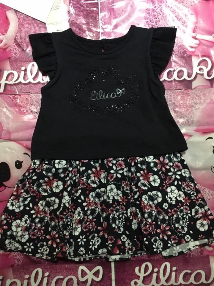d49483ac0 Vestido Infantil Lilica Ripilica Baby - R$ 169,90 em Mercado Livre