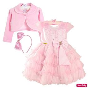 42b991e081 Vestido De Festa Da Barbie Castelo De Diamante - Vestidos no Mercado ...