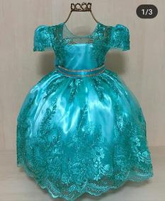 Enjoei Vestido De Festa Vestidos Verde Médio Com O