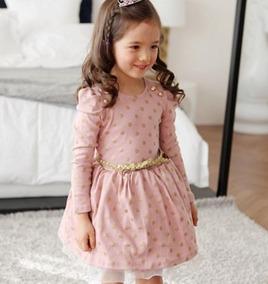 ec09e8844 Vestido Infantil Dinda - Vestidos para Meninas Festa com o Melhores Preços  no Mercado Livre Brasil