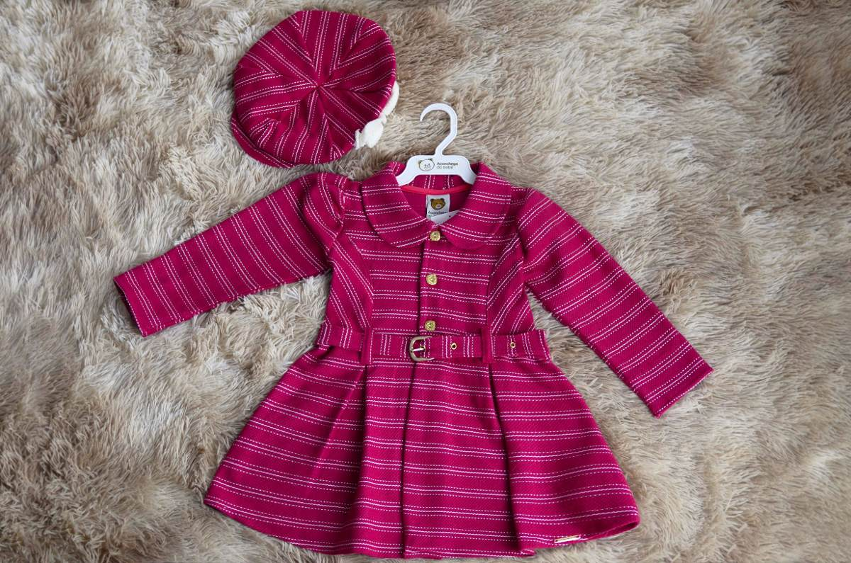 Vestido Infantil dfd3682110d
