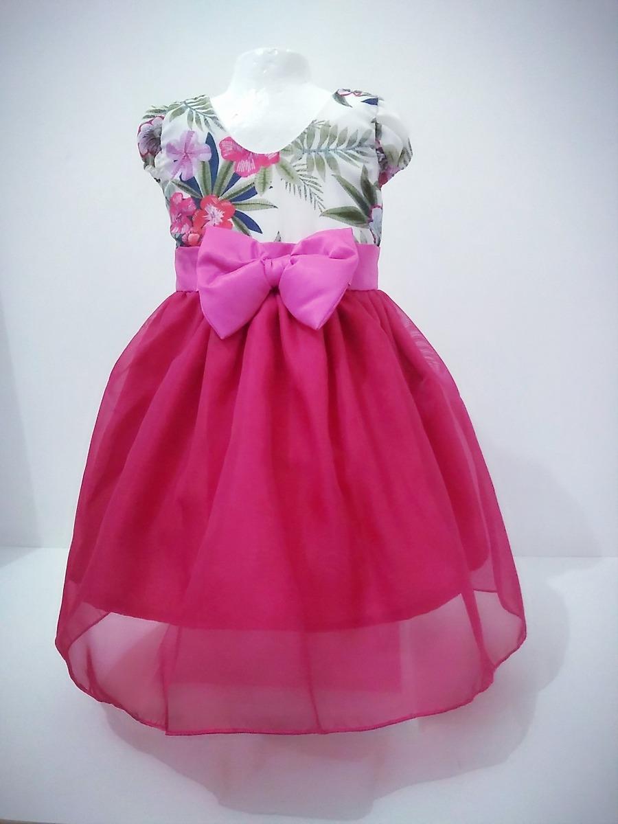 48c47ac67ad Vestido Infantil Menina Festa Aniversário Casamento Bela