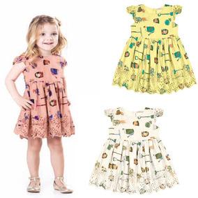 9c02af235 Vestido Festa Menina 01 Ano - Calçados, Roupas e Bolsas no Mercado Livre  Brasil