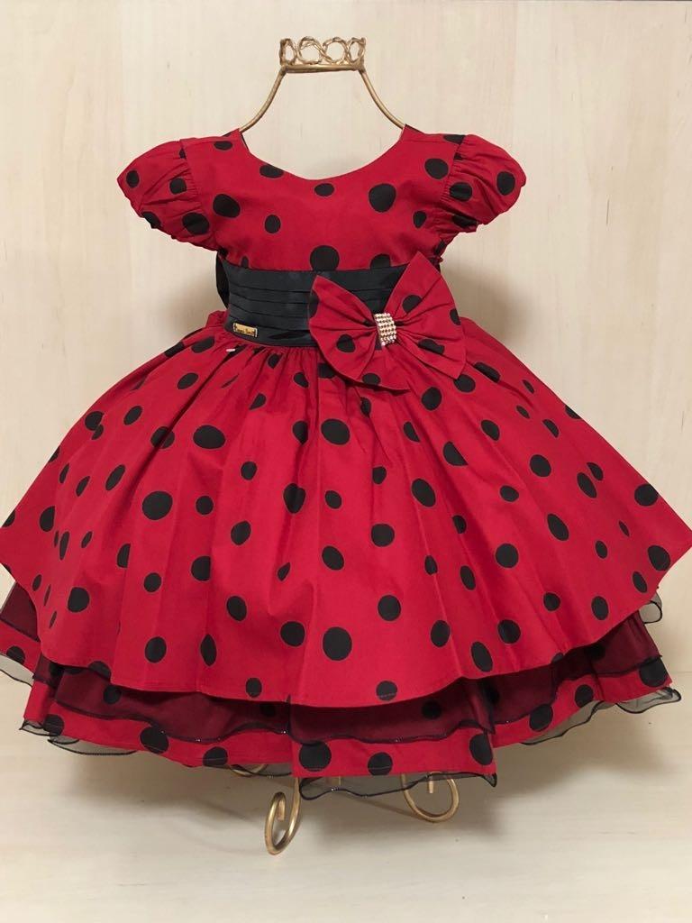 0d22829a9f6 vestido infantil minie festa luxo tema minie. Carregando zoom.