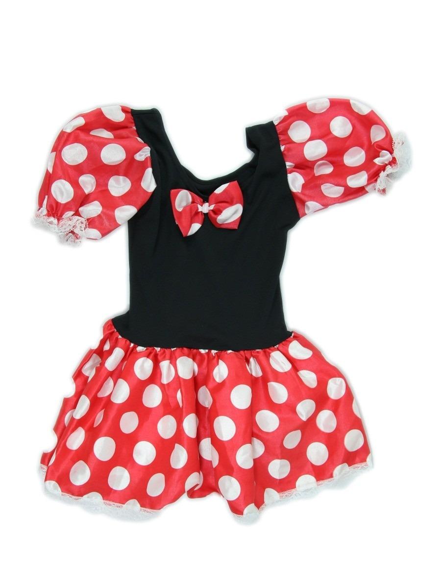 Vestido Infantil Minnie Fantasia Minnie Ratinha Carnaval R 59  ~ Cozinha Da Minnie De Verdade
