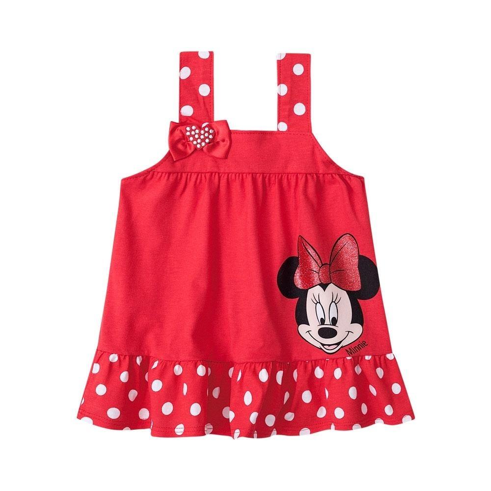 7f805a92287 vestido infantil minnie menina brandili. Carregando zoom.