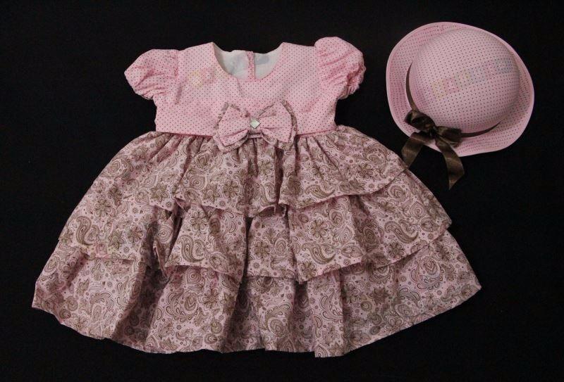 01f2c7a53219b Vestido Infantil Para Criança Menina Mod Princesa - Promoção - R  89 ...