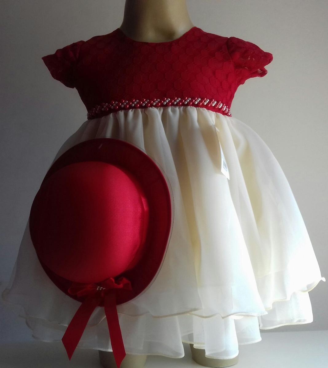 Vestido Infantil Princesa Com Chapéu Festa Diversos Modelos - R  120 ... 3d4afa61ccd