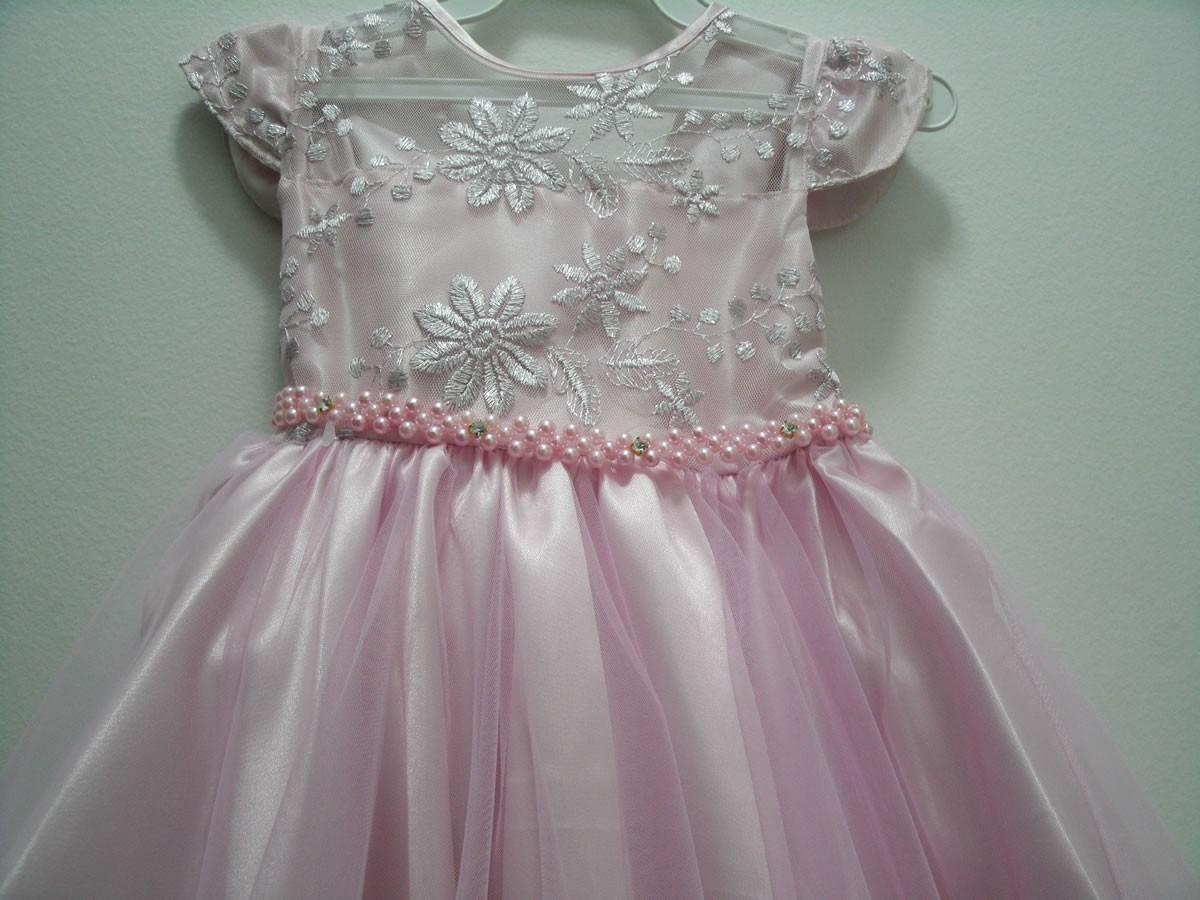 52c56d3312 vestido infantil princesa festa rosa luxo menina aniversário. Carregando  zoom.