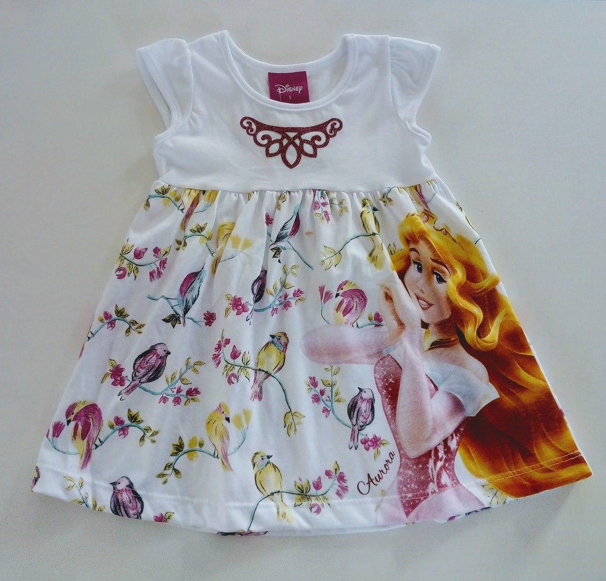 e24fe3a917bf22 Vestido Infantil Princesa Menina Brandili Branco Liquidação