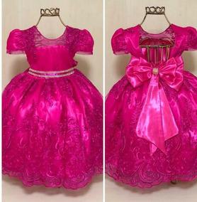 Enjoei Vestido De Festa Vestidos Fúcsia Médio Com O