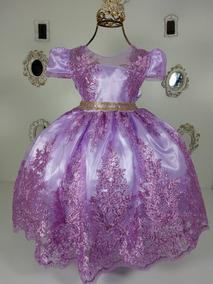 Vestido Princesa Sofia Original Kit Vestidos Meninas De