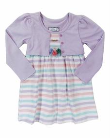 06f895f2db Vestido Linha Inverno Infantil Marisol - Calçados