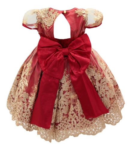 vestido infantil rosa festa realeza princesas super promoção