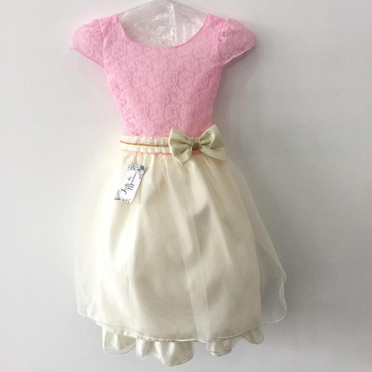 53827c883651 Vestido Infantil Tamanho 10 - R$ 140,00 em Mercado Livre