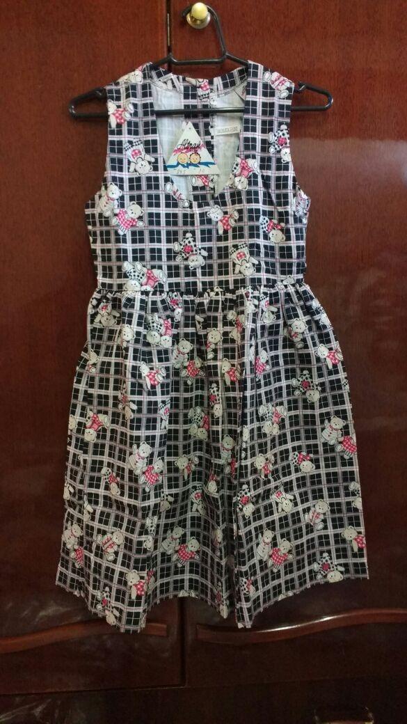 77c56ea601de Vestido Infantil Tamanho 10 Anos - Parte 4/5 - R$ 59,90 em Mercado Livre