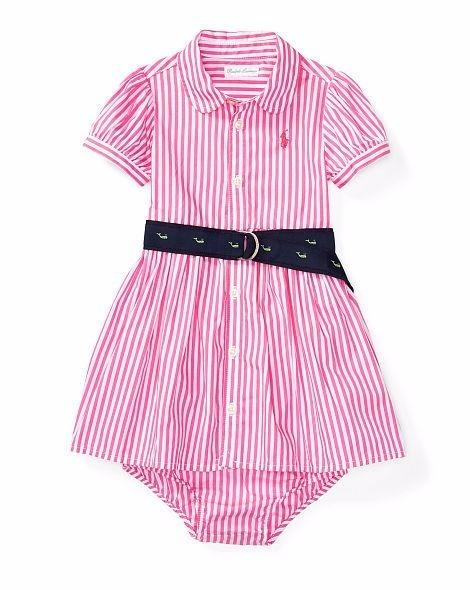c333e750f5 Vestido Infantil Tecido Festa Polo Ralph Lauren Calcinha - R  197