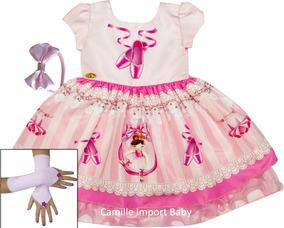76c1a41216 Vestido Bailarina 1 Ano - Calçados