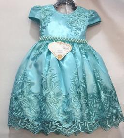 Vestido Infantil Tamanho 3 Tamanho 12 Vestidos Meninas De