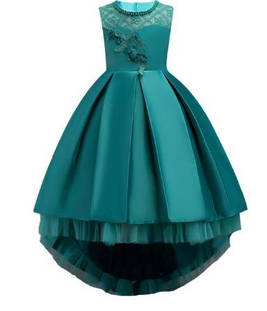 537d20509d Vestido Infanto Juvenil Festa Princesa Casamento Dama - R  129