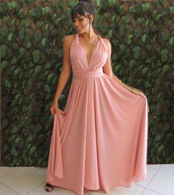 91a1089e814b47 Vestido Infinity - Vestidos Femeninos Longo com o Melhores Preços no  Mercado Livre Brasil