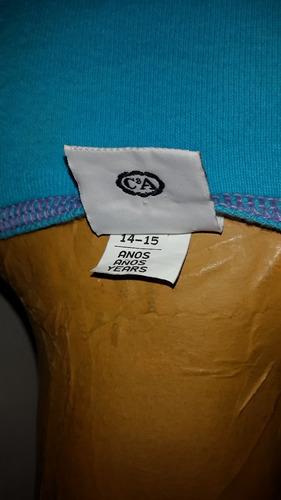 vestido informal t 14.o s..algodon.medidas.san isidro