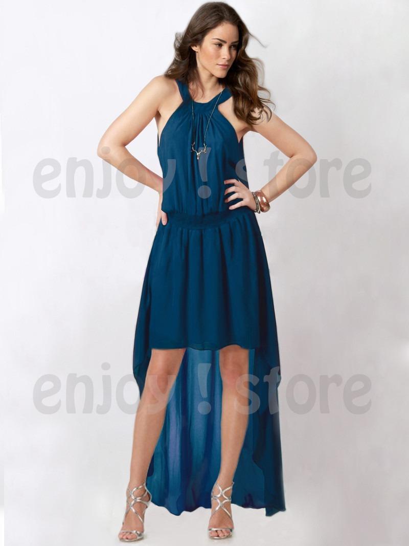 Vestidos de fiesta color azul mercadolibre