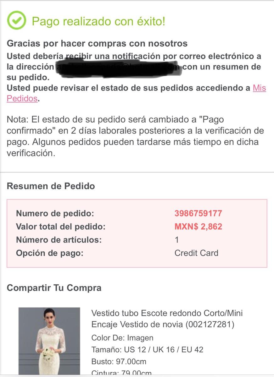 Vestido Ivory Corto/manga 3/4 Ideal Para Novia Civil - $ 2,862.00 en ...