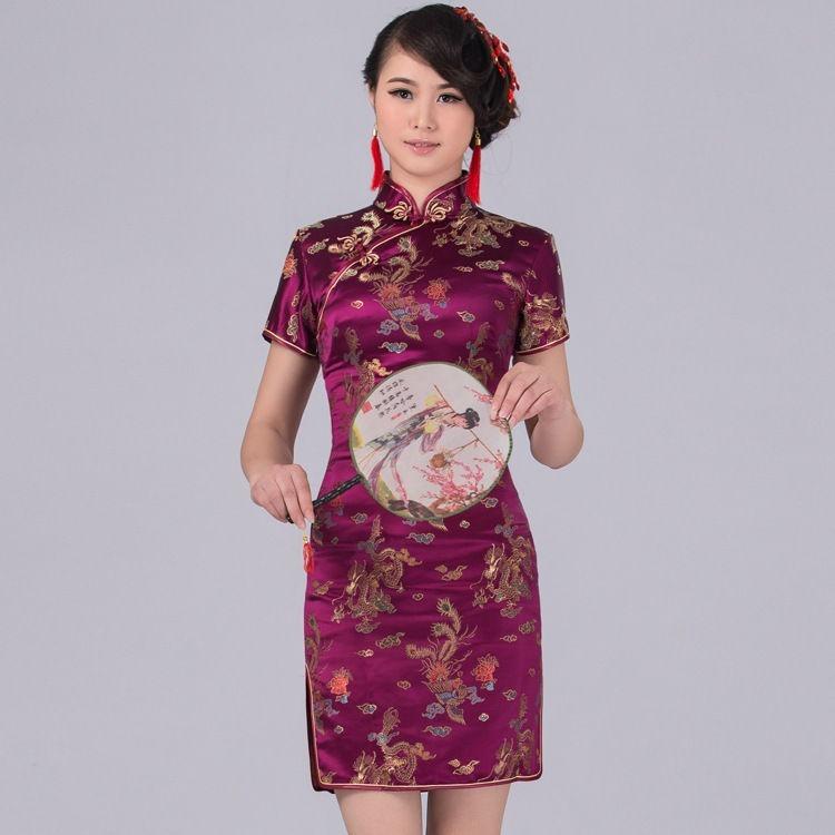 2e15157cd Vestido Japones Oriental Cheongsam C800 - R  149