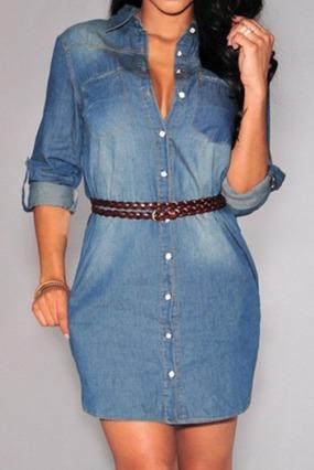 Vestidos jeans comprar