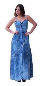 b6cbe840f Vestido Jeans Balada Feminino - Calçados, Roupas e Bolsas Azul-aço com o  Melhores Preços no Mercado Livre Brasil