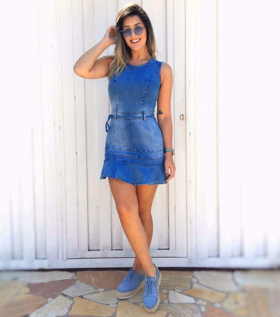 Vestidos jeans moda