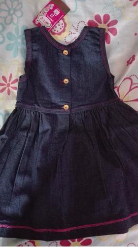 vestido jeans para niña (solo talla 2)