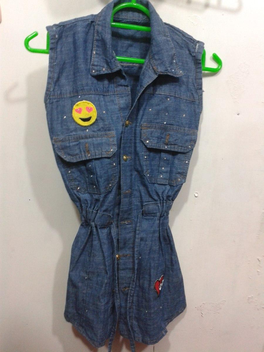4986c7d6b Vestido Jeans Para Niña Talla 10. - Bs. 0,15 en Mercado Libre