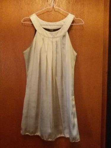 vestido joyce leslie - color champagne