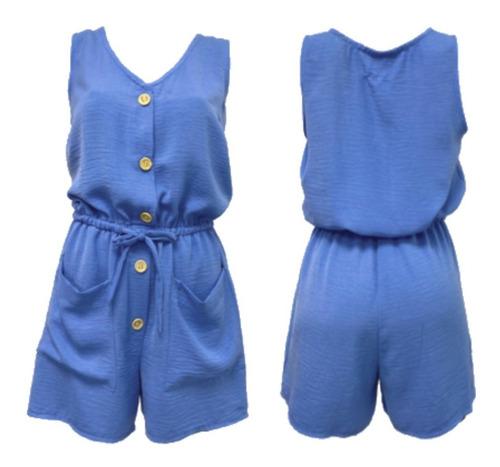 vestido jumper con bolsas verano moda mujer junior casual