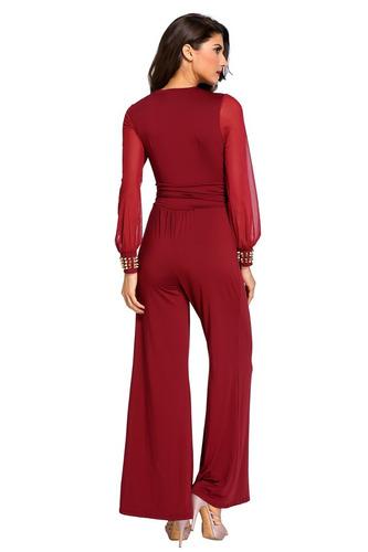 vestido jumpsuit palazzo  bautizo boda fiesta 3 colores