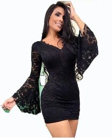 03a0e7343 Vestido Justo Curto Coladinho - Vestidos Curtos Femininas no Mercado Livre  Brasil