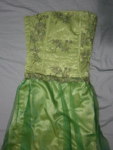 vestido juvenil para fiesta