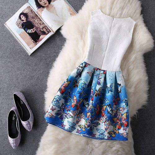 vestido juvenil poliéster, jacquard, algodón envío gratis