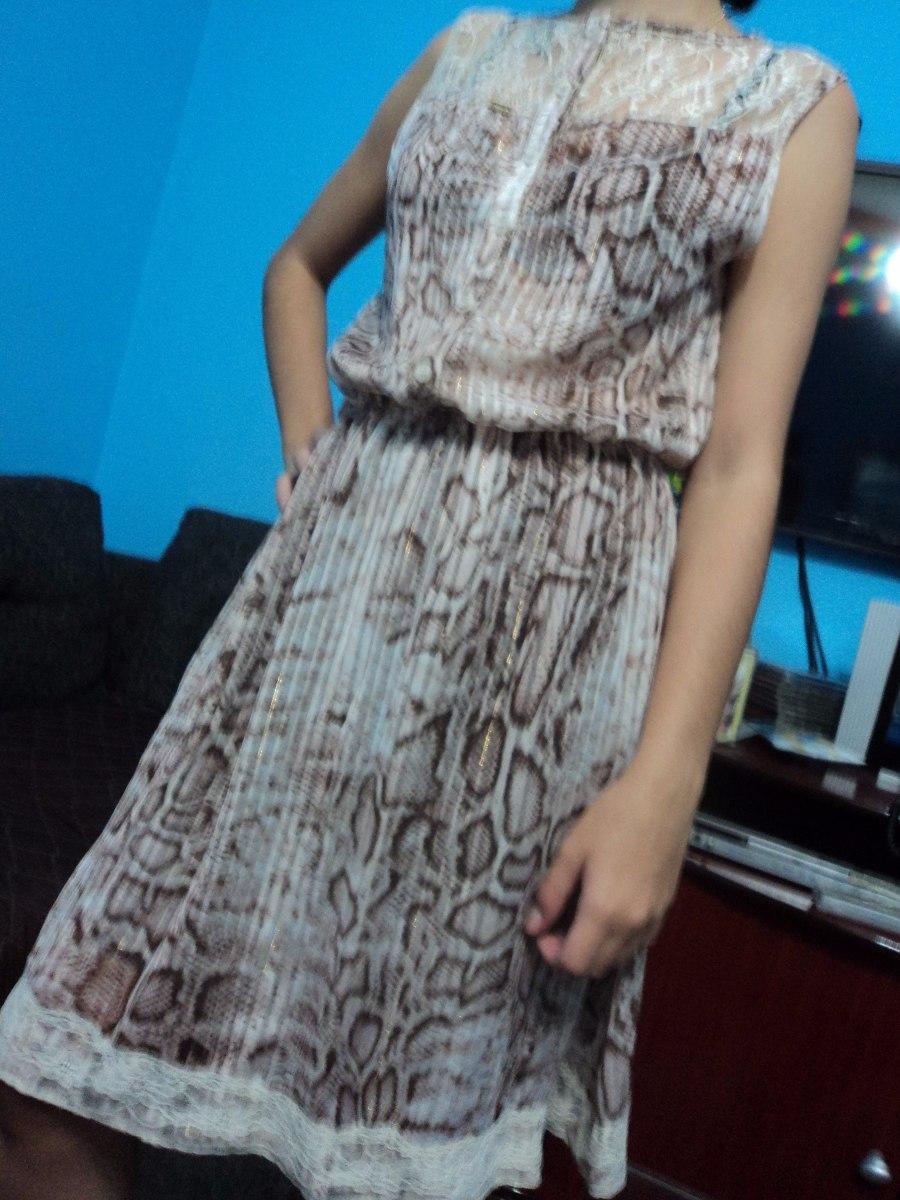 7c22b679c Vestido Karamello Tam: M Semi Novo - R$ 20,00 em Mercado Livre