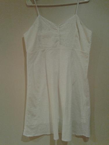 vestido kill talle l blanco sin uso impecable