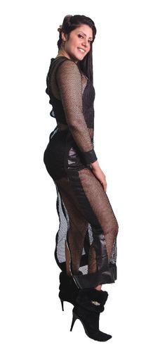 vestido kim kardashian tela transparente