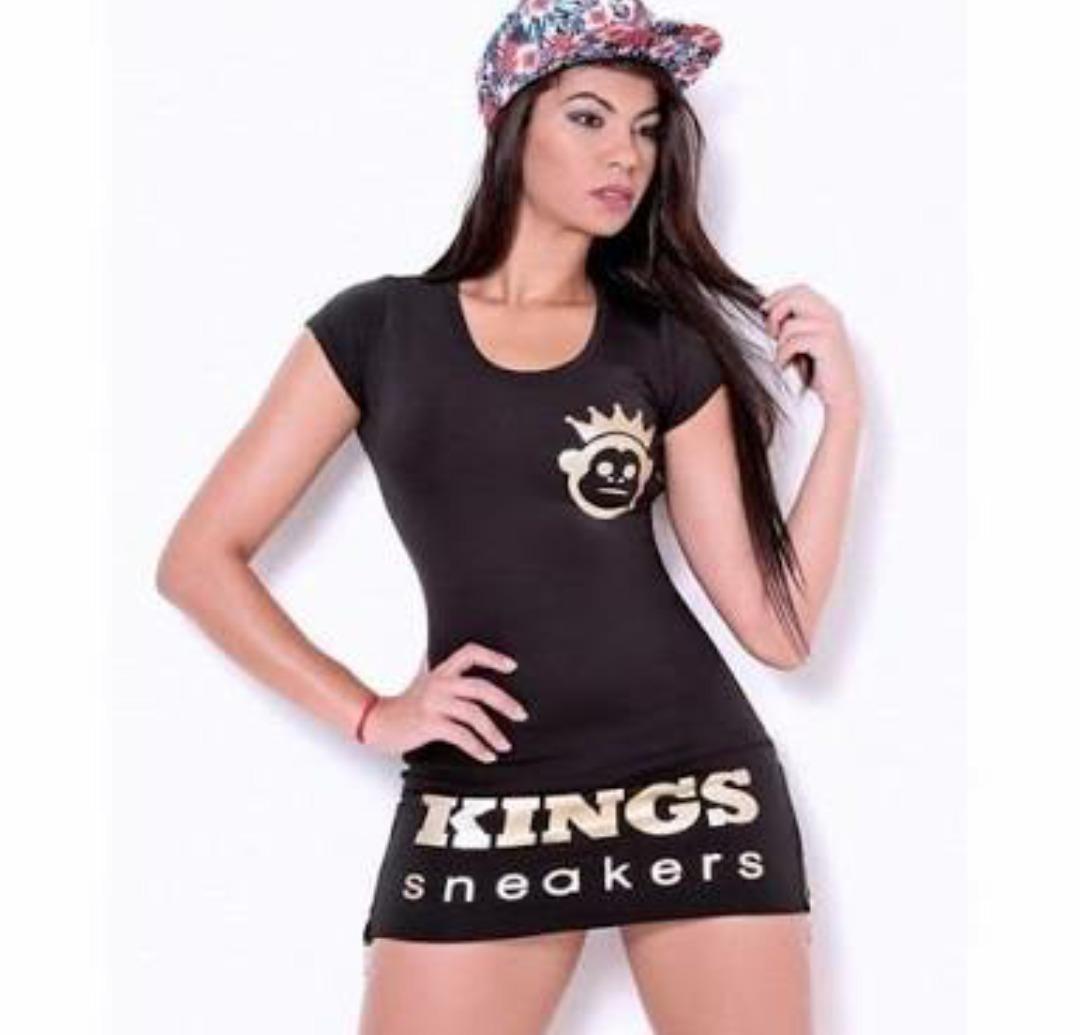 Novo Original Vestido Kings Sem Frete 0NnX8wOkPZ