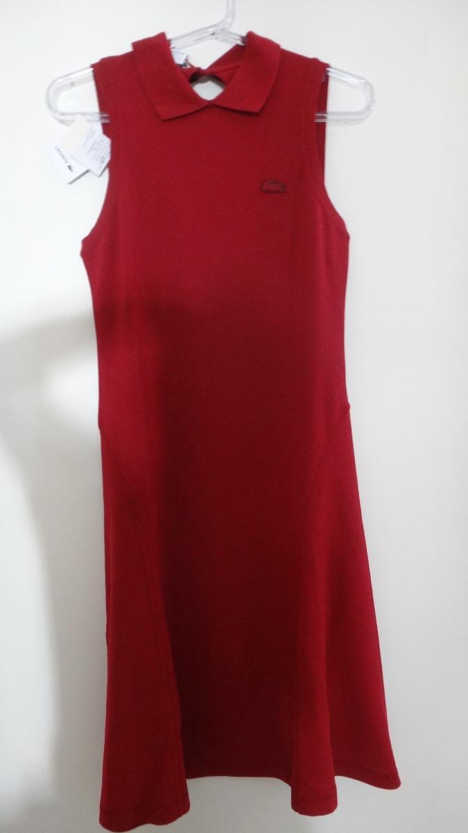 047bc63d49d vestido lacoste. Carregando zoom.