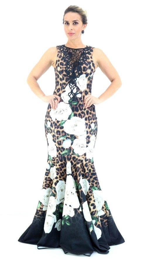 071ae0dd7 Vestido Lança Perfume Longo Red Carpet Pv18 - R$ 973,00 em Mercado Livre