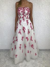 acce8d9598 Vestido De 15 Años Fucsia Alquiler - Vestidos de Mujer en Mercado ...
