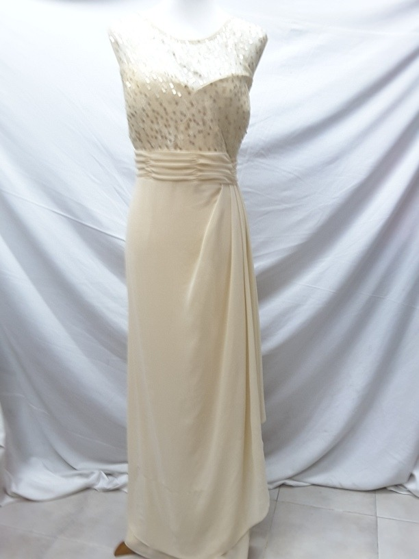 Imagenes de vestidos largos beige
